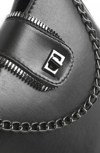 حقيبة كتف أسود 3027-01