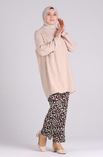 Pantalon Noir 1335-01