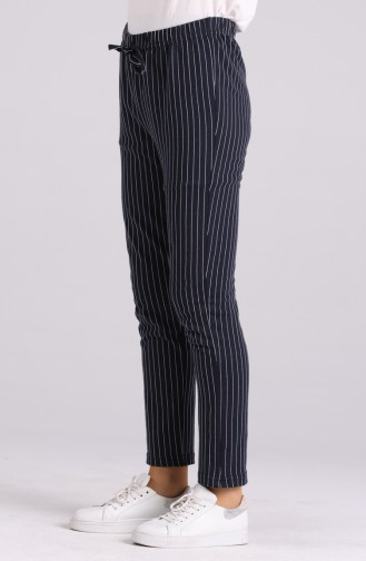Pantalon Bleu Marine 4000-05
