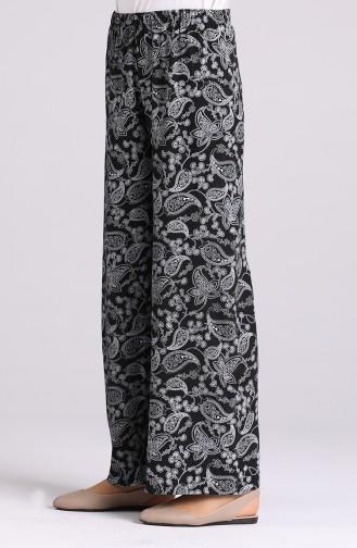 Pantalon Noir 0904A-01