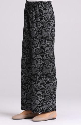 Pantalon Noir 0904B-01