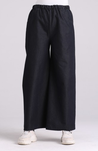 Dark Navy Blue Broek 9011A-01