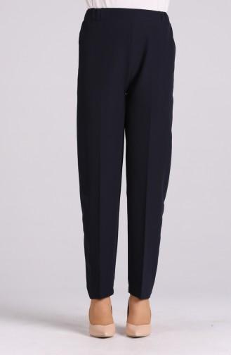 Pantalon Bleu Marine 1983-02