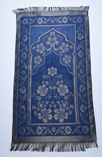 Tapis de Prière Bleu marine clair 90638-02