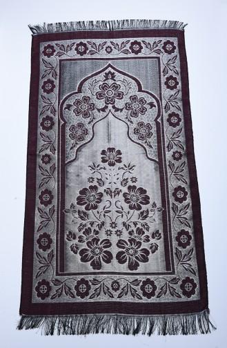 Tapis de Prière Bordeaux 90638-07