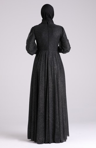 Habillé Hijab Noir 1550-06