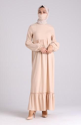 Mink Hijab Dress 1410-01