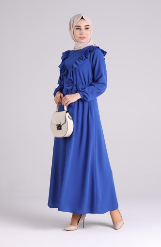 Robe Hijab Blue roi 1323-06