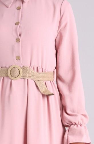 Robe Hijab Poudre 5483-17