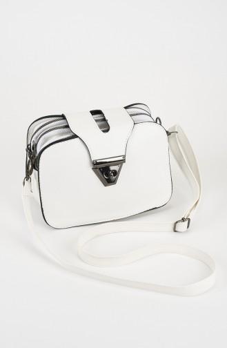Sac D`épaule Blanc 29-02