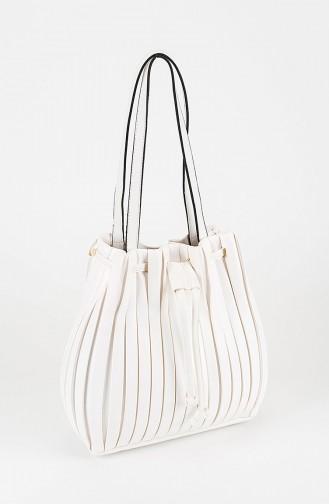حقيبة كتف أبيض 25-02