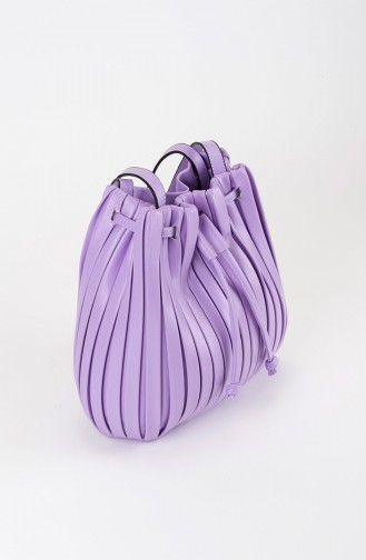 حقيبة كتف ليلكي 25-05
