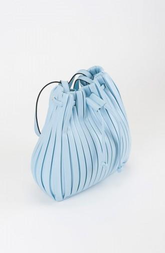 Sac D`épaule Bleu 25-06