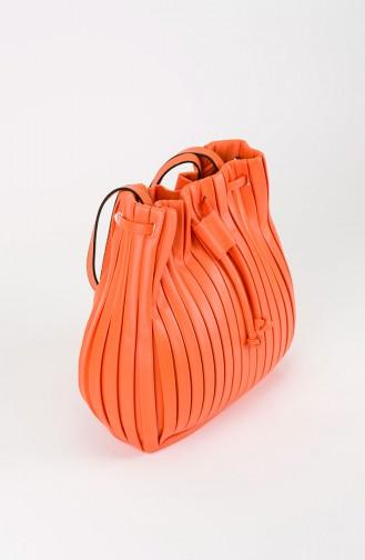 Sac D`épaule Orange 25-07