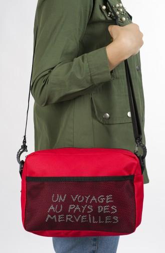 Red Shoulder Bag 29-03