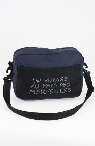 Sac D`épaule Bleu Marine 29-04