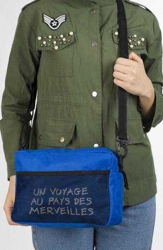 Blue Shoulder Bag 29-05