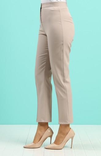Pantalon Beige Foncé 1102-34