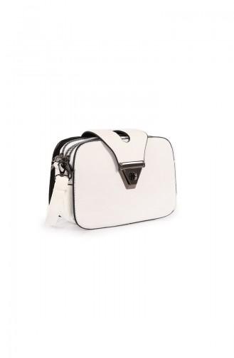 حقيبة كتف أبيض 28Z-02