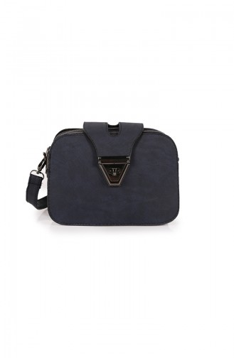 Navy Blue Shoulder Bag 28Z-03