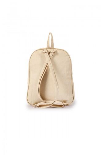 Cream Back Pack 29Z-04