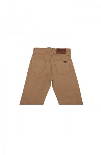 Pantalon Enfant et Bébé Crème 5011-04