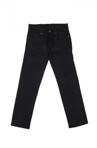 Pantalon Enfant et Bébé Bleu Marine 5012-02