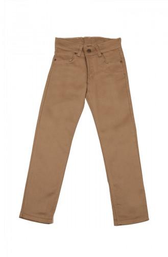 Pantalon Enfant et Bébé Crème 5012-04