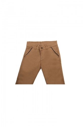 Cream Baby and Kids Pants 6011-04