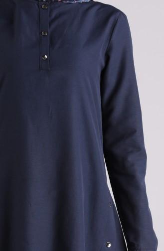 تونيك أزرق كحلي 3195-01