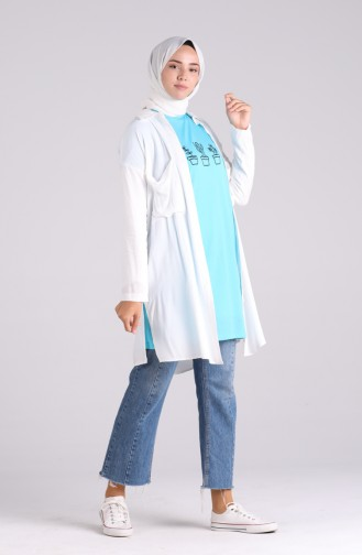 Turquoise T-Shirt 8133-09