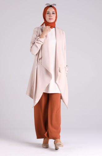 Cinnamon Color Pants 8142-17