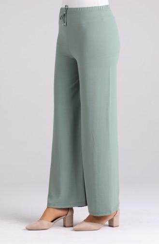 Pantalon Vert eau 8142-19