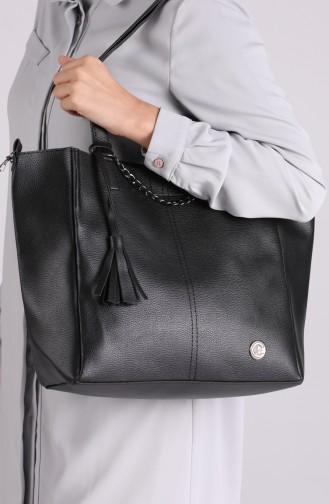 حقيبة كتف نسائية TS195SI لون أسود 195SI