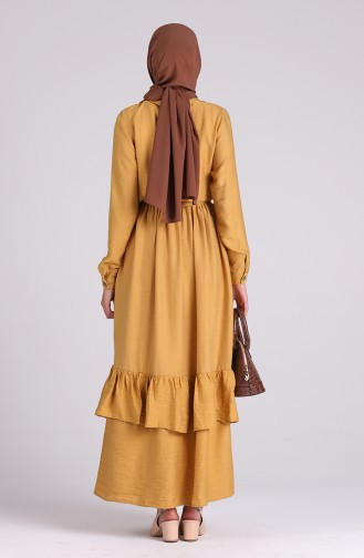 Robe Hijab Moutarde 0033-07