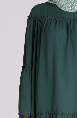 Smaragdgrün Tunikas 4001-02