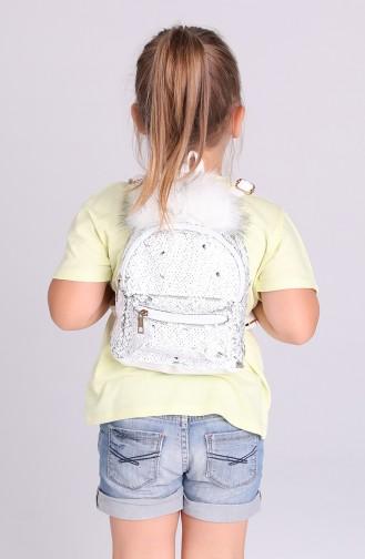 Weiß Kindertaschen 005-105