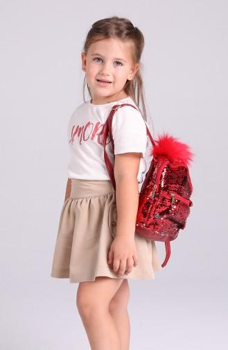 Rot Kindertaschen 005-055