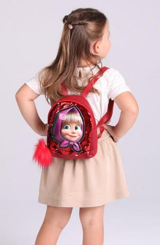 Sac Enfant Rouge 003-055