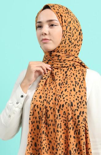 Orange Schal 54271-01