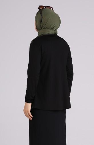 Black Blouse 0533-07