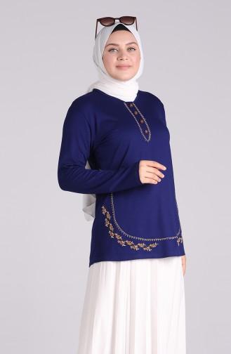 Saxon blue Blouse 0536-03