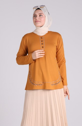 Blouse Moutarde 0536-06