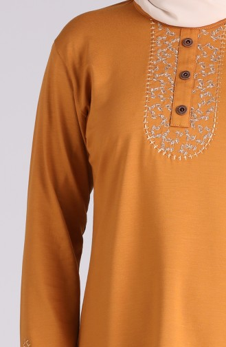 Blouse Moutarde 0537-04