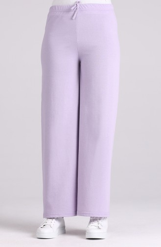 Pantalon Lila clair 8108-17