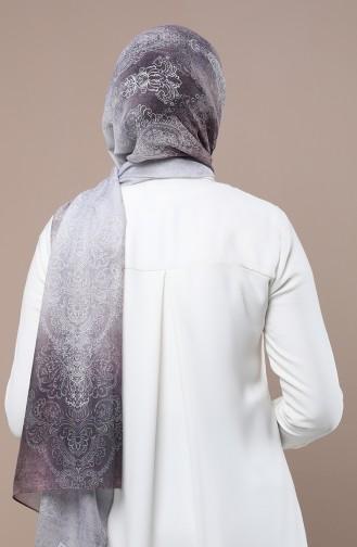 شال رمادي فاتح 2537-07