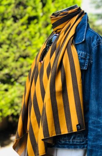شال أصفر خردل 54302-01