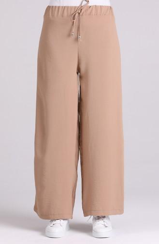 Pantalon Beige Foncé 2000-08
