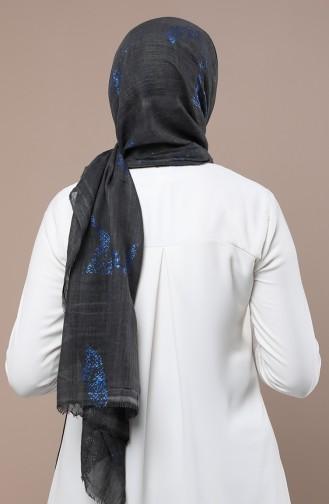 Saxon blue Sjaal 3181-09