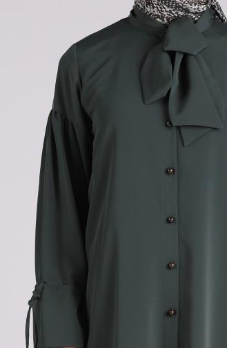 تونيك أخضر داكن 6070-02